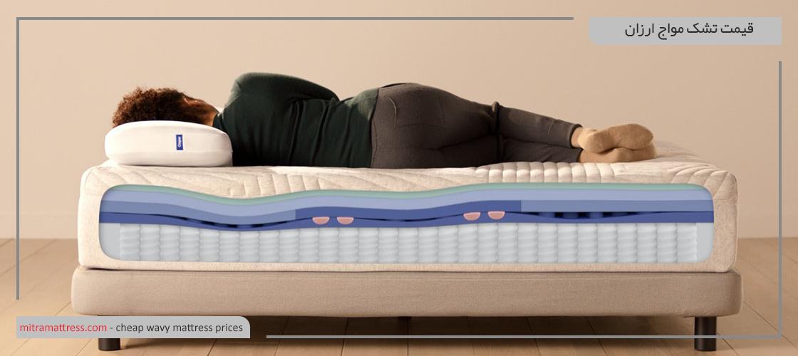 تشک مواج، بهترین روش برای مداوای بیماری زخم بستر